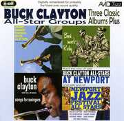 3 LPs - Songs For Swingers/ Buck Meets Ruby/ Harry Edison Swings Buck Clayton