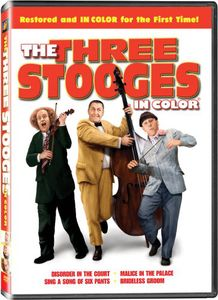 Three Stooges: Three Stooges [Color] [Full Screen]