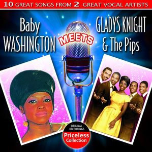 Baby Washington Meets Gladys Knight and The Pips