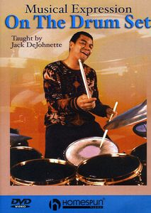 Jack DeJohnette Teaches Musical Expression On The Drum Set Level 3 & 4[Instructional]