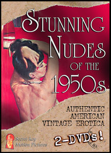 Stunning Nudes Of The 1950's: Burlesque/ Nude Posing And More
