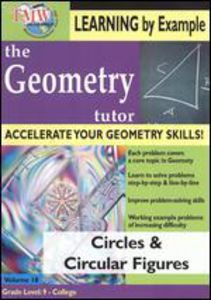 Geometry Tutor: Circles and Circular Figures