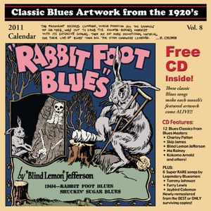 Classic Blues Artwork 1920s Calendar 2011 /  Various