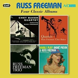 4 LPS - Quartet Featuring Russ Freeman /  Quartet