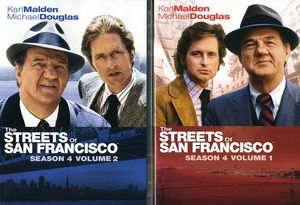 The Streets of San Francisco: Season 4 Volume 1 & 2 2-Pack