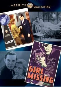 Wac Double Features: Illicit/ Girl Missing