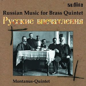 Russian Music for Brass Quintet /  Various