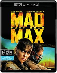 Mad Max Fury Road   [4K Ultra HD + Blu-ray + Digital HD]