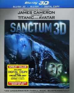Sanctum [3D] [WS] [With 2D Blu-ray] [2 Discs] [Lenticular O-Sleeve]