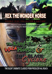 The King Of The Wild Horses/ The Black Cyclone [Silent]