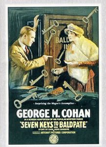 Seven Keys To Baldpate [1917] [B&W] [Silent]