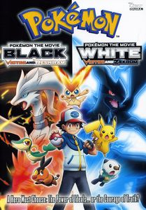 Pokemon The Movie: Black - Victini and Reshiram/ Pokemon The Movie: White - Victini and Zekrom [Double Feature]
