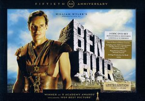 Ben-Hur [1959] [Ultimate Collector's Edition] [50th Anniversary Edition] [Remastered] [Restored] [5 Discs] [Gift Set] [128-Page Hardcover Replica Of Charles Heston's Journal] [64-Page Hardcover Book]