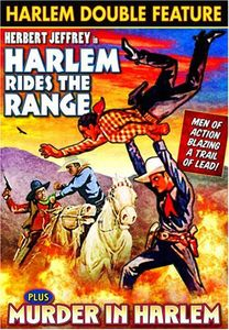Harlem Double: Murder in Harlem /  Harlem Rides the