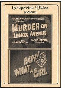 Murder On Lenox Avenue (1941)/ Boy! What A Girl!