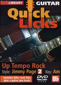 Quick Licks: Jimmy Page - Up Tempo Rock for Guitar