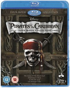 Pirates of the Caribbean 1-4 Box Set