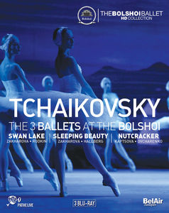 Tchaikovsky: The 3 Ballets at the Bolshoi