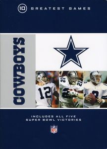 NFL: Dallas Cowboys 10 Greatests Games [Standard] [Box Set] [10 Discs]