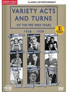 Variety Acts & Turns of the Pre War Years: 1938-39 [Import]
