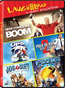 Grownups 2/ Here Comes The Boom/ Joe Dirt 2: Beautiful Loser/ Paul Blart:Mall Cop 2/ Pixels
