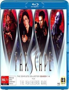 Farscape: Complete Series (21 Blu-Ray) [Import]