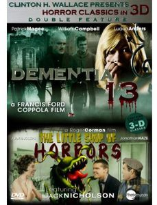 3d Collection: Dementia 13/ Little Shop Of Horror