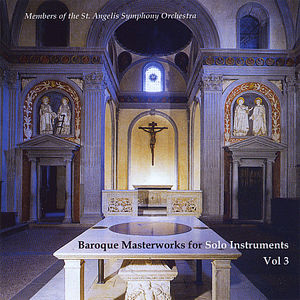 Baroque Masterworks for Solo Instruments 3