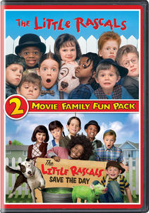 The Little Rascals 2 Movie Family Fun Pack