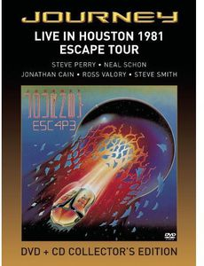 Live In Houston 1981: The Escape Tour [DVD/ CD Combo] [Collector's Edition] [Remastered] [Digipak Amaray]