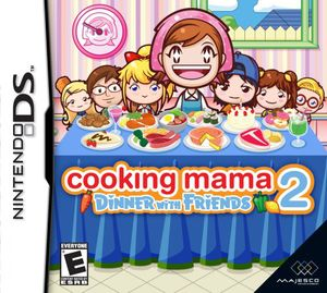 Cooking Mama 2: Dinner with Friends  for Nintendo DS