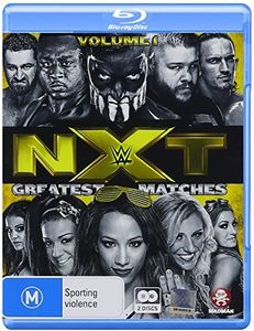 WWE: NXT's Greatest Matches Vol 1 [Import]