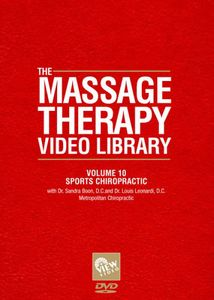 Massage Therapy Video Library - Sports Chiropractic, Vol. 10