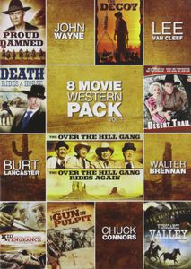 8-Movie Western Pack, Vol. 1 [Full Frame] [2 Discs]