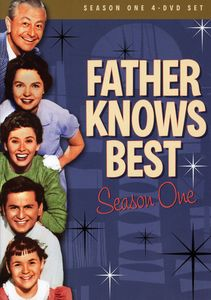 Father Knows Best: Season One [Full Frame] [4 Discs] [Slim Packs]