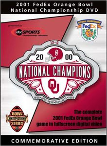 Oklahoma Sooner: 2001 Orange Bowl