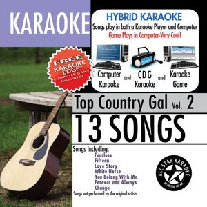 Karaoke: Top Country Gal With Karaoke Edge