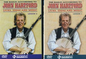 The Banjo According To John Hartford, Vol. 1 and 2 [Instructional]
