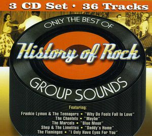Only Best of History of Rock Group Sounds /  Various