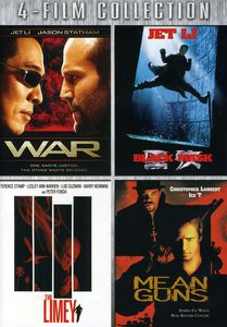 WAR/ Black Mask/ The Limey/ Mean Guns [4 Discs]