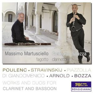Works & Duos for Clarinet & Bassoon