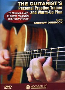 The Guitarist's Personal Practice Trainer & Warm-Up Plan