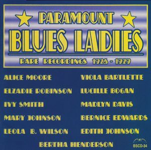 Paramount Blues Ladies - Rare Recordings