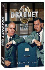 Dragnet: Season 3 [Full Frame] [4 Discs]