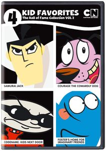 4 Kid Favorites Cartoon Network Hall Of Fame #2