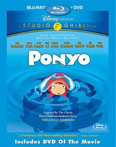 Ponyo [Widescreen] [With DVD] [2 Discs] [Foil O-Ring]