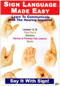 Sign Language Series 13-16