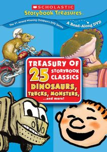 Dinosaurs, Trucks and More The Scholastic Treasury Of 25 Storybook [4Discs]