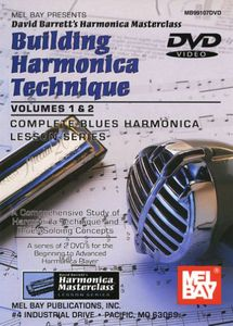 Building Harmonica Technique, Vol. 1 and 2