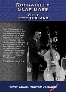 Rockabilly Slap Bass with Pete Turland